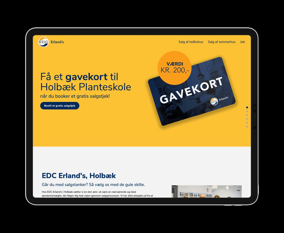 EDC Erland Ipad gavekort